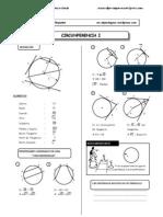 Teorema en La Circunferencia