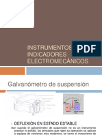 Instrumentos indicadores electromecanicos
