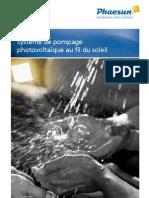 Phaesun FS OGW PumpingSystems FR 042011