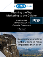 Marketing to the C-Suite - CMO Club Teleconf - 29 May 2009