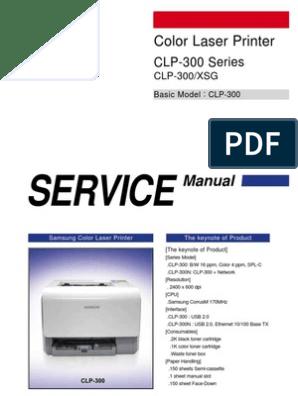 Samsung Clp 300 - Service Manual | Electrostatic Discharge
