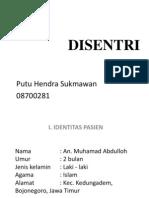 laporan kasus disentri