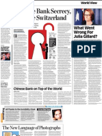 What Went Wrong for Julia Gillard, The Economic Times July 2, 2013