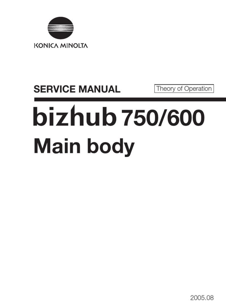 konicaminolta 8050 cf5001 bizhub proc500 8150 field service manual