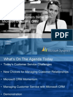 Serve Your Customers Better With Microsoft Dynamics CRM