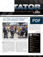 LAPD Reserve Rotator Newsletter Fall 2009