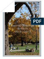 2012 2013 Course Bulletin
