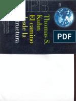 Kuhn. El Camino Desde La Estructura