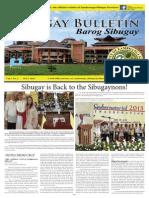 Sibugay Bulletin Vol.1