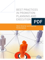 Promotion Planning Execution