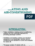 Heating and Air Conditioning in a caR