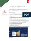 Adobe Acrobat Xi Combine Files Into PDF Portfolio Tutorial Ue