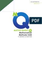 Maths Quest Methods year 12
