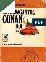 Musatescu, Vlad - Extravagantul Conan Doi Vol.ii Redus