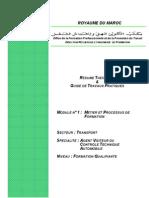 M01- Metier Et Processus de Formation
