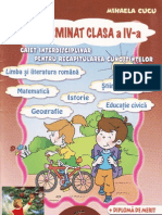Am Terminat Clasa a IV-A