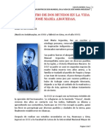EL ENCUENTRO DE DOS MUNDOS EN LA VIDA DE JOSÉ MARÍA ARGUEDAS