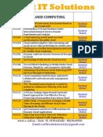 IEEE -2013  e-soft IT Sotluions