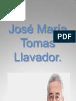 José María Tomas Llavador
