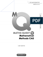Maths Quest Methods Solutions y11