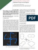Isotropic Radiation Using Crossed Dipoles