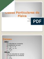 Clases Particulares de Física Fuerza