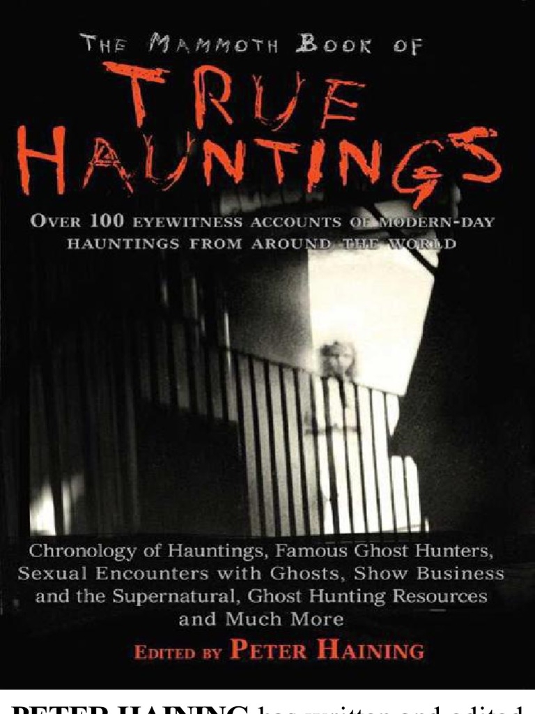 The mammoth book of true hauntings parapsychology ghosts fandeluxe Images