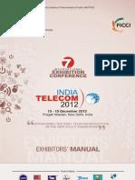 Event- InDIA TELECOM 2012- Exhibitor-manual