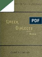 Buck, Greek Dialects
