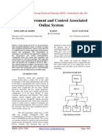 Data Procurement and Control Associated Online System