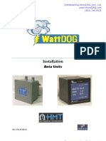 Wattdog Installation Manual