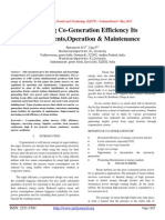 Increasing Co-Generation Efficiency Its