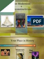 Postmodernism and Deconstructivism