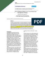 Study of Diabetes Treatment With Moringa