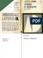 [eBook ITA] Bruno Munari - Artista e Designer (Laterza, 1969).pdf
