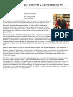 Jaque perpetuo. Miguel Gutiérrez y la generación del 50