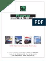 Rane Elastomer Processors Catalogue