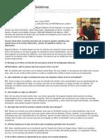 La literatura según Gutiérrez