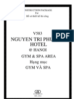 01 V583-Gym&Spa - Coverpage & List of Drawing 20120511