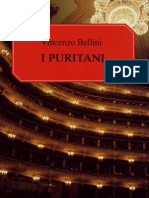 Bellini - I Puritani - Vocal Score