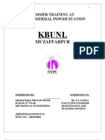 ntpc mechanical report