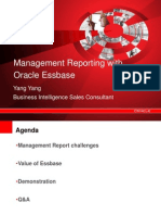 Mgmt Reporting With Oracle Essbase