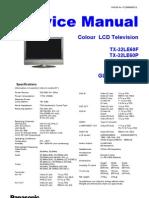 Panasonic TX 26le60 Service Manual