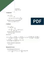 Combinari Aranjamente Si Permutari Teoria