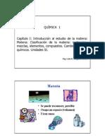 Clase Cap 1.1 Materia Mezclas C F y Q Unidades SI