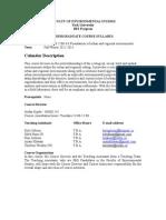 Envs 2200 2012-13 Fall-winter Syllabus