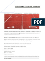 Conditioning to Develop the Physically Dominant Rugby Player