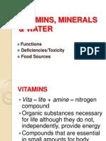 Nudietvitamins, Minerals & Water