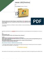 Instalar Windows 7 Desde USB Usarlo