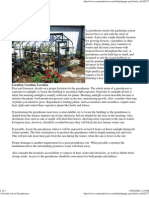 Greenhouses - Basic Information